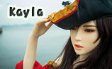 beauty type 160plus doll Kayla cosplay pirates