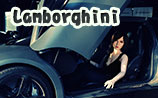 beauty type 160plus doll Sandy with Lamborghini