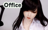 realistic 167cm doll office lady