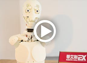 DS robotic doll video