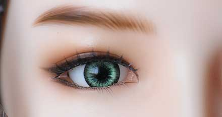 doll Green color eye