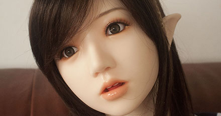 Samantha love doll head picture 4
