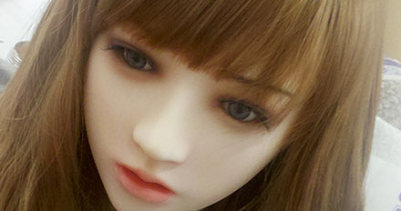 Samantha love doll head picture 1