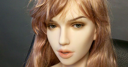 Sandy love doll head picture 4