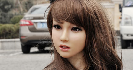 Thera love doll head picture 3