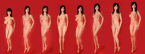 10 kinds doll bodies compare side by side